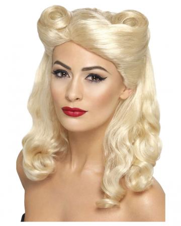40s blond wig