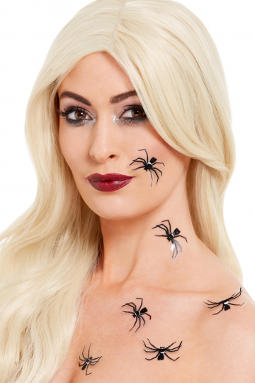 3D Spiders FX Skin Sticker 6 Pieces