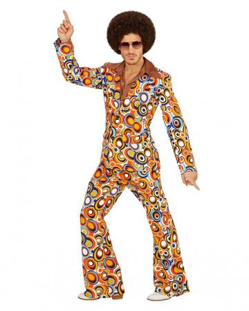 70s Groovy Kostüm Anzug Bubbles