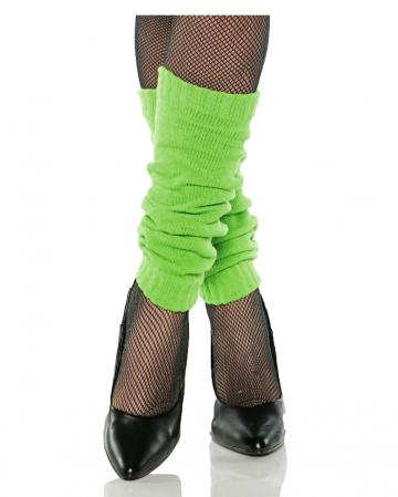 80s leg warmers green