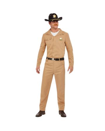 80s Retro Sheriff Costume For Men