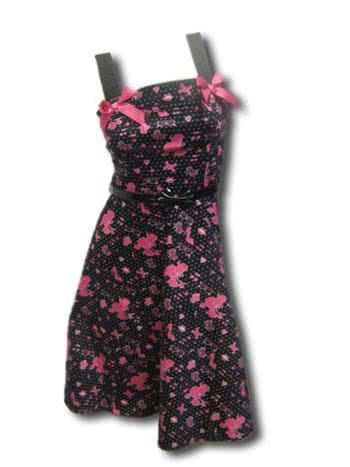 Poodle Dress Pink