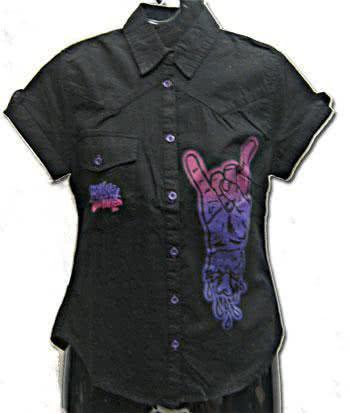 Rock On Shirt Size M