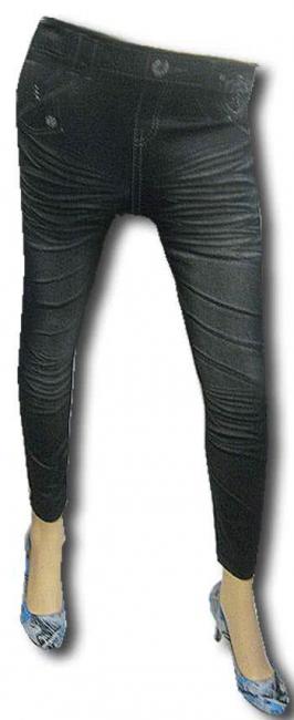 Leggins in Jeans Optik