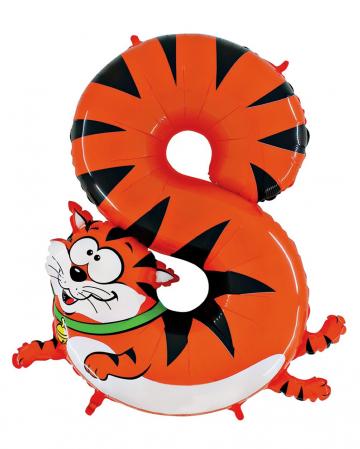 Animaloon number 8 cat