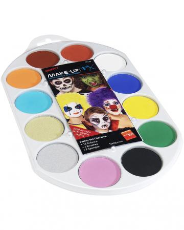 Aqua Make-up FX Farbpalette
