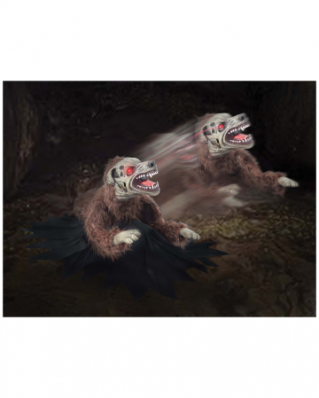 Attackierender Zombie Hund Animatronic