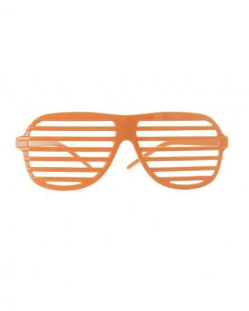 Etching glasses Neonorange