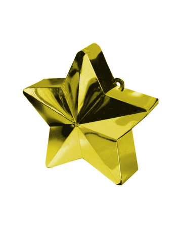Ballongewicht Stern Gold 150g