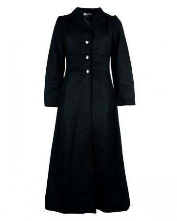 Baroness Gothic Mantel schwarz
