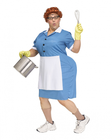 Big Booty Cafeteria Lady Men Costume
