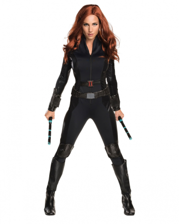Black Widow Ninja Kostüm