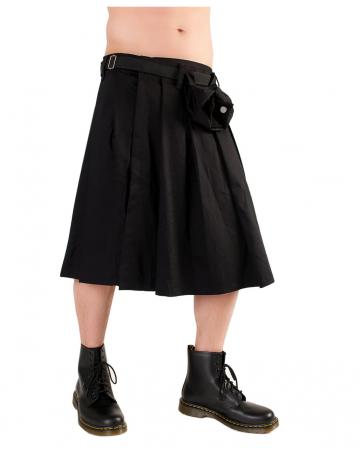 Short Kilt Black Pistol black