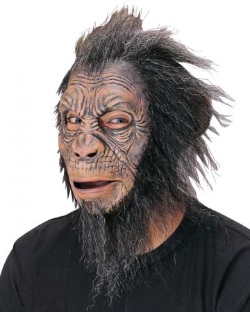 Blake Hairy Ape Affenmaske mit Kunsthaar