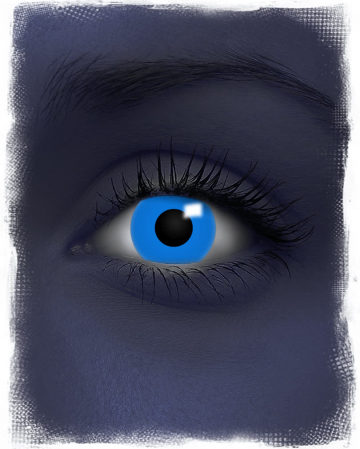 Blue Contact Lenses UV