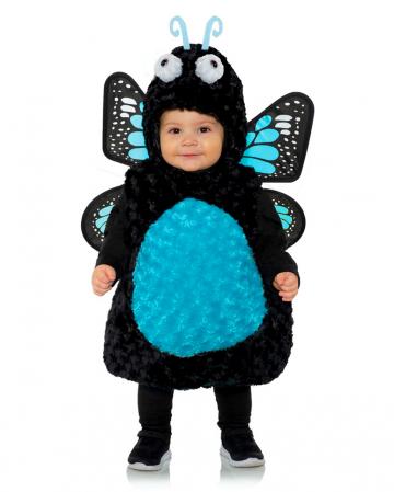 Blauer Schmetterling Kleinkinderkostüm