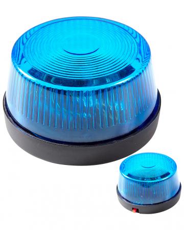 Blaues Warnlicht mit Sirene