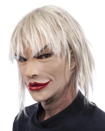 Blonde Tussi Frauenmaske