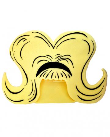 Blondie Schaumstoff Hut