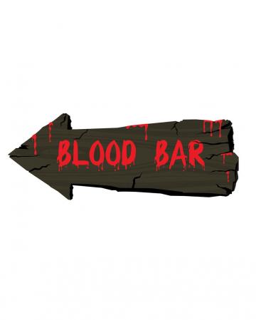 Blood Bar Halloween Shield