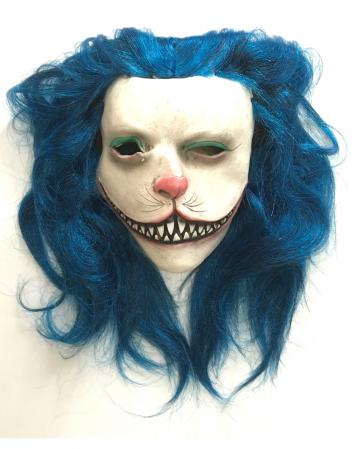 Blue Kitty Horror Mask