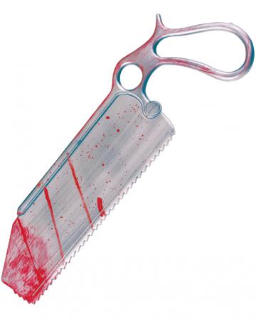 Blutige Chirurgen Säge