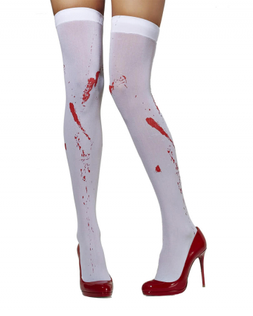 Bloody Over the Knee Socks
