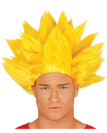 Evil Manga Fighter Wig