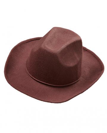 Cowboy Filzhut Braun