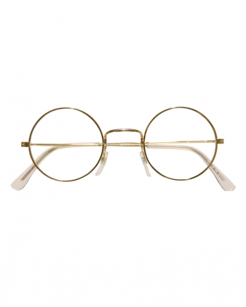 Glasses With Round Glasses