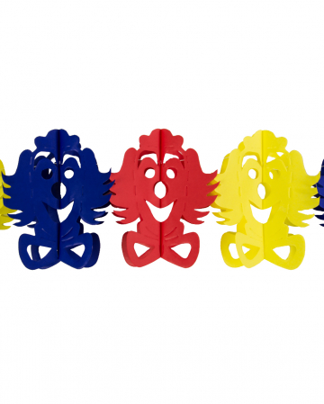 Colorful Clown Garland