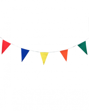 Colorful Bunting fabric