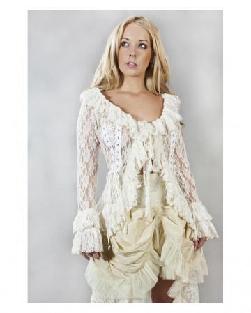 beige Burleska jacket Lace & Brocade