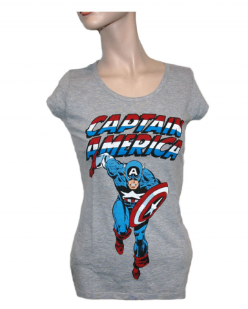 Captain America Damen T-Shirt