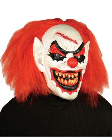 Carver Horror Clown Mask