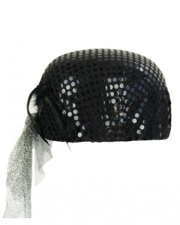 Charleston Hat Black