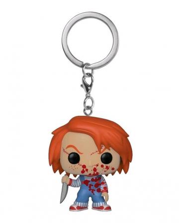Chucky Bloody Keychain Pocket POP LIMITED