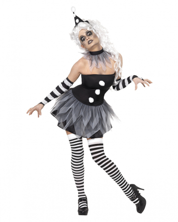 Circus Sinister Pierrot costume for women