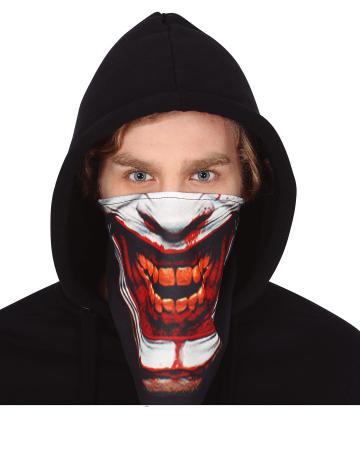 Creepy Clown Gesichtstuch