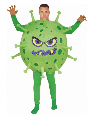 Corona Virus Kostüm Aufblasbar