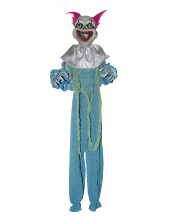 Creepy Clown Decoration Blue