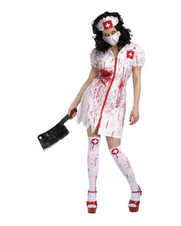 Cursed Nurse Krankenschwester Kostüm
