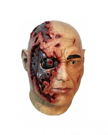 Cyborg Latex Maske
