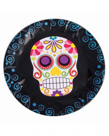 Day of the Dead Sugar Skull Pappteller
