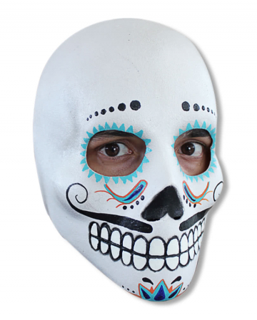 Day of the Dead Skull Maske Deluxe