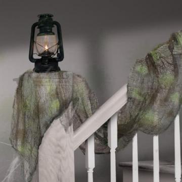 Deko Gaze Netz Blacklight Glow