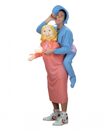 Mommy's Boy Carry Me Kostüm für Erwachsene