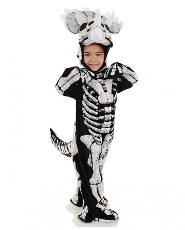 Three Horn Dino Skeleton Infant Costume