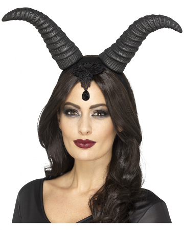 Dark Fairy Horns Hair Bands
