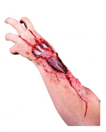 Eaten Away latex wound